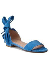Stuart Weitzman Sandały Corbata Niebieski. Kolor: niebieski