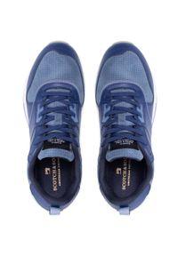 Scotch & Soda - Sneakersy SCOTCH & SODA - Vivex 22833773 Blue Multi S651. Okazja: na spacer, na co dzień. Kolor: niebieski. Materiał: skóra, zamsz. Szerokość cholewki: normalna. Styl: sportowy, casual