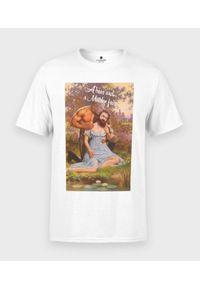 MegaKoszulki - Koszulka męska A bear and a maiden fair. Materiał: bawełna