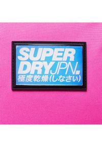 Różowy plecak Superdry