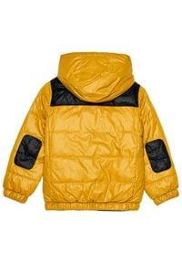 Pepe Jeans Kurtka puchowa Cas PB401013 Żółty Regular Fit. Kolor: żółty. Materiał: puch