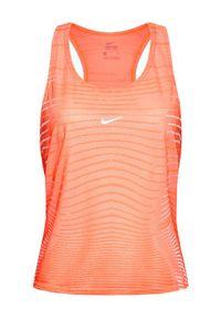 Nike Bluzka Pro DA0528 Różowy Regular Fit. Kolor: różowy