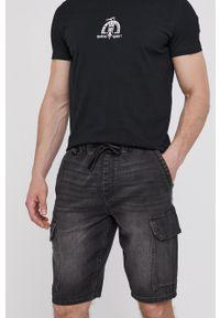 medicine - Medicine - Szorty jeansowe Basic. Okazja: na co dzień. Kolor: czarny. Materiał: jeans. Styl: casual