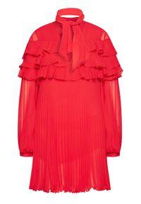 Czerwona sukienka koktajlowa Babylon