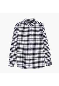 Cropp - Koszula w kratę - Czarny. Kolor: czarny