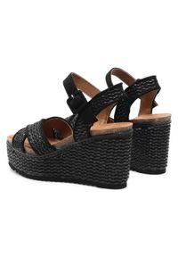 Refresh - Sandały REFRESH - 72728 Black. Okazja: na spacer, na co dzień. Kolor: czarny. Materiał: materiał. Sezon: lato. Styl: casual
