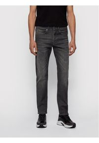 BOSS - Boss Jeansy Taber 50444765 Szary Tapered Fit. Kolor: szary