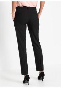 Czarne spodnie bonprix biznesowe, na spotkanie biznesowe