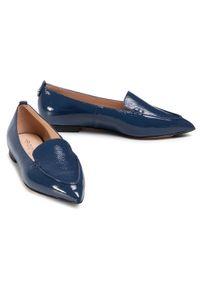 Niebieskie półbuty Eva Longoria