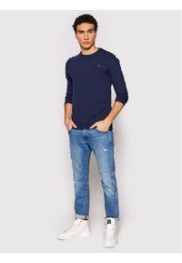 Superdry Longsleeve Vintage M6010119A Granatowy Regular Fit. Kolor: niebieski. Długość rękawa: długi rękaw. Styl: vintage #4