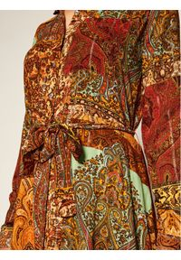 Sukienka Desigual koszulowa, w kolorowe wzory #5