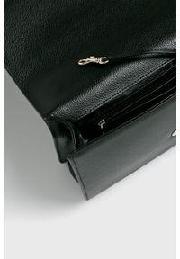Czarna kopertówka DKNY na ramię, mała