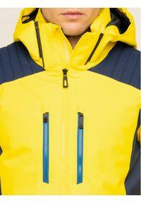 Żółta kurtka sportowa Rossignol narciarska