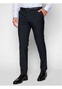 Niebieskie spodnie Oscar Jacobson
