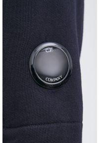 C.P. Company - Bluza bawełniana. Okazja: na co dzień. Kolor: niebieski. Materiał: bawełna. Styl: casual