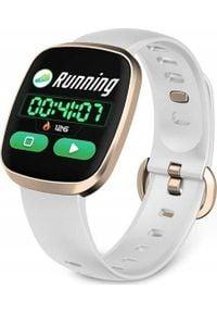 NoName - Smartwatch GT103 Biały (2681-uniw). Rodzaj zegarka: smartwatch. Kolor: biały