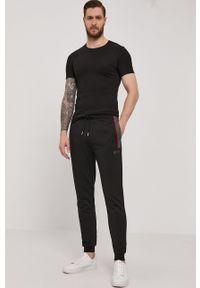 BOSS - Boss - T-shirt (3-pack). Okazja: na co dzień. Kolor: czarny. Materiał: dzianina. Wzór: gładki. Styl: casual