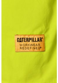 CATerpillar - Caterpillar - Koszula. Okazja: na co dzień. Kolor: żółty, zielony, wielokolorowy. Materiał: tkanina. Długość rękawa: krótki rękaw. Długość: krótkie. Wzór: gładki. Styl: klasyczny, casual #4