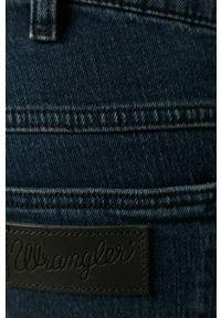 Wrangler - Jeansy Larston 812. Okazja: na co dzień. Kolor: niebieski. Styl: casual