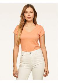 Pomarańczowy t-shirt G-Star RAW