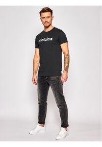 Maloja T-Shirt SarpangM. 30501-1-0817 Czarny Regular Fit. Kolor: czarny