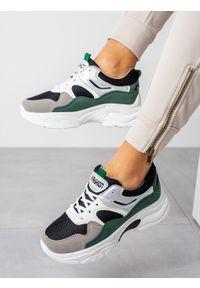 Wielokolorowe buty sportowe Casu na co dzień, z cholewką