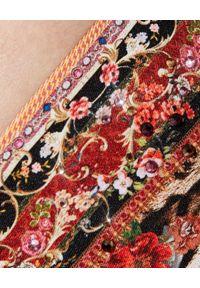Camilla - CAMILLA - Top od bikini. Kolor: brązowy. Materiał: tkanina, nylon. Wzór: motyw zwierzęcy, nadruk