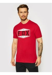 Fox Racing T-Shirt Emblem 26972 Czerwony Regular Fit. Kolor: czerwony