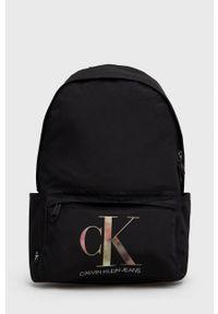 Calvin Klein Jeans - Plecak. Kolor: czarny. Materiał: poliester