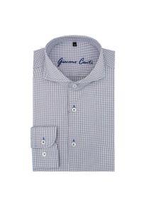 Koszula Giacomo Conti z długim rękawem, w kratkę, długa