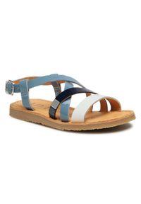 Niebieskie sandały Unisa