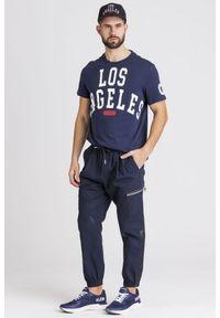Spodnie dresowe Armani Exchange z aplikacjami #5