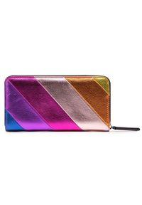 Kurt Geiger Duży Portfel Damski K Zip Around Wallet Eagle 1803069109 Kolorowy. Wzór: kolorowy