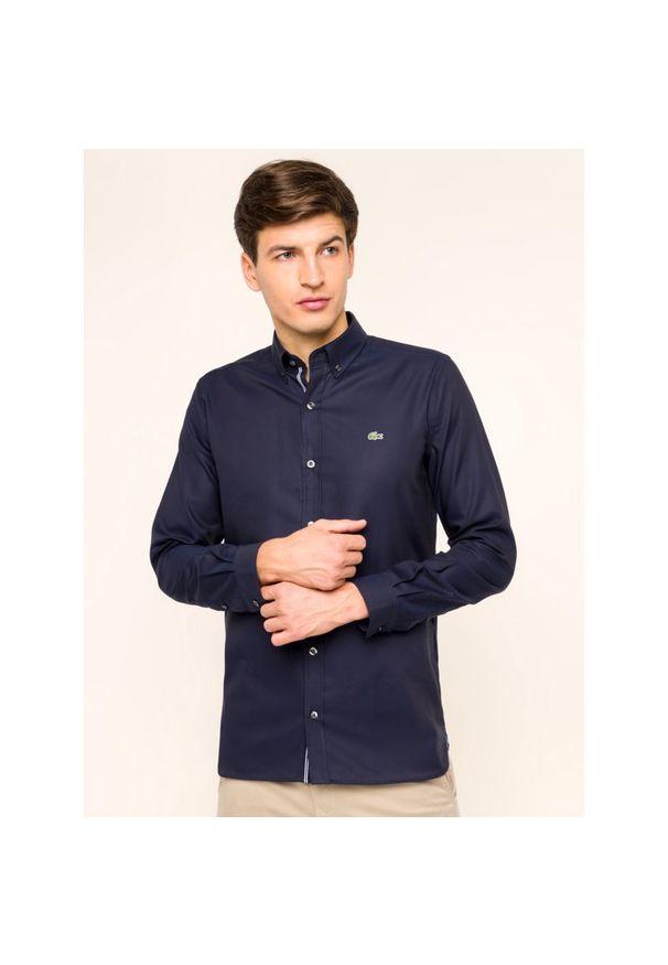 Niebieska koszula Lacoste