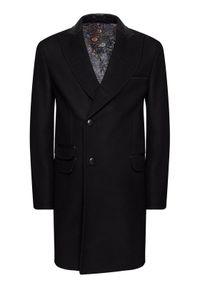 Czarny płaszcz przejściowy Rage Age #7