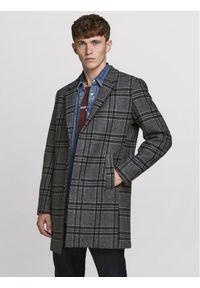 Szary płaszcz przejściowy Jack & Jones