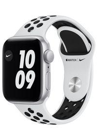 APPLE - Apple Zegarek Watch Nike SE , 40mm Silver Aluminium Case with Pure Platinum/Black Nike Sport Band (MYYD2HC/A). Kolor: srebrny. Styl: sportowy