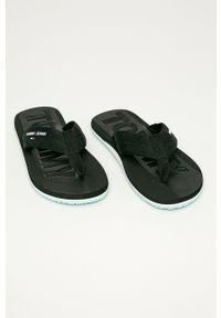 Czarne japonki Tommy Jeans