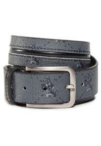 U.S. Polo Assn - Pasek Męski U.S. POLO ASSN. - Derry Men's Belt 35H Printed WIUYD2206MPI/000 Black. Kolor: wielokolorowy, szary, czarny. Materiał: skóra