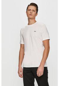 Biały t-shirt Hugo z aplikacjami