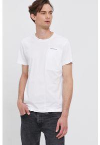 Calvin Klein Jeans - T-shirt. Okazja: na co dzień. Kolor: biały. Styl: casual