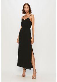Czarna sukienka Jacqueline de Yong prosta, maxi