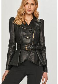 Czarna kurtka Elisabetta Franchi klasyczna