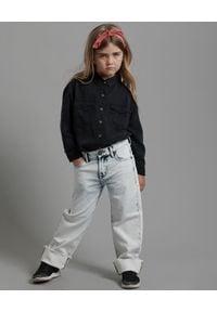 ONETEASPOON KIDS - Jeansy Classic Bandits 5-14 lat. Okazja: na uczelnię. Stan: obniżony. Kolor: biały. Materiał: jeans. Sezon: lato. Styl: klasyczny, sportowy