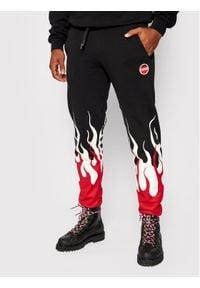 Colmar Spodnie dresowe Mood 9722 6UX Czarny Regular Fit. Kolor: czarny. Materiał: dresówka