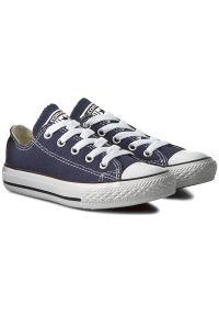 Niebieskie półbuty Converse z cholewką, casualowe, na co dzień