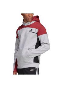 Bluza Adidas sportowa, w jednolite wzory
