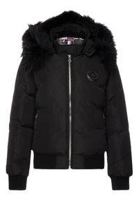 Czarna kurtka zimowa Plein Sport sportowa