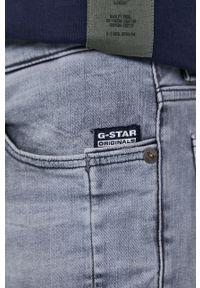 G-Star RAW - G-Star Raw - Jeansy Lancet. Kolor: szary