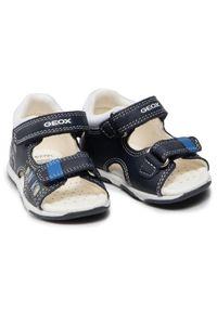 Geox Sandały B S.Tapuz B. C B150XC 08510 C4211 Granatowy. Kolor: niebieski